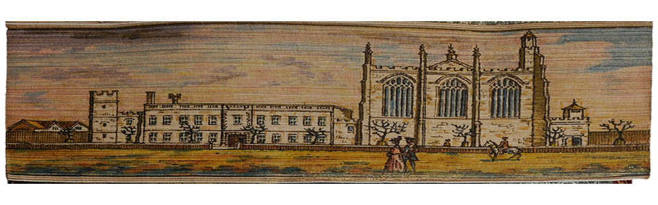 Fore-edge painting book