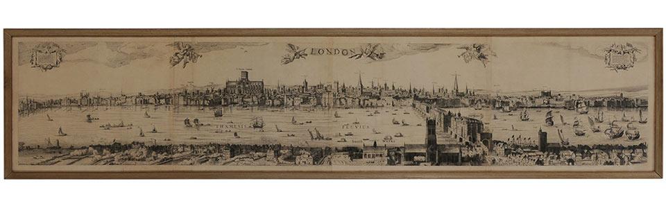 London map circa 1883-1885