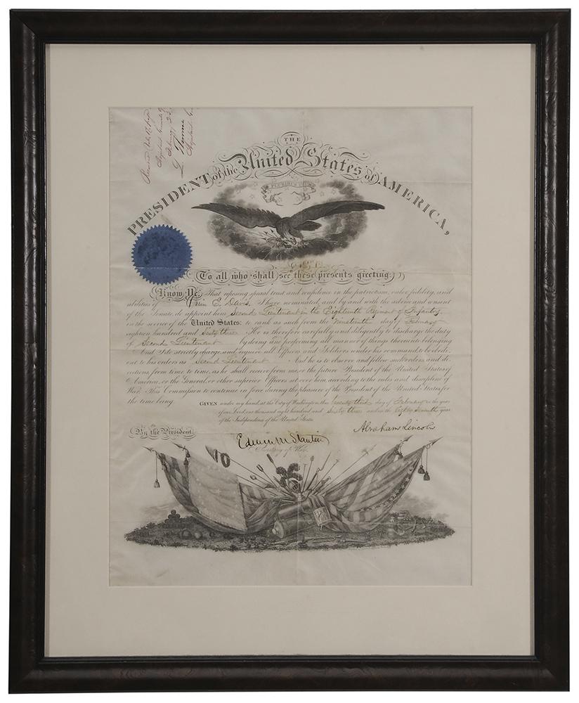 Abraham Lincoln Presidential document